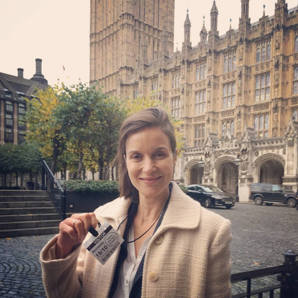 I went to the House of Parliament to talk abouthellip
