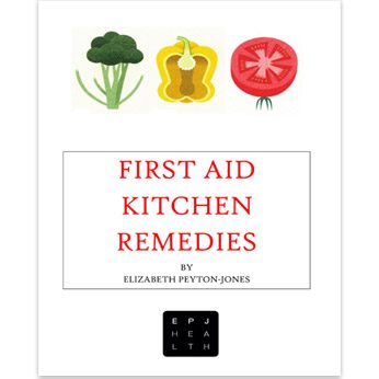 First Aid Kitchen Remedies