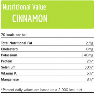 Nutritional value cinnamon