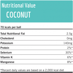 Nutritional value coconut