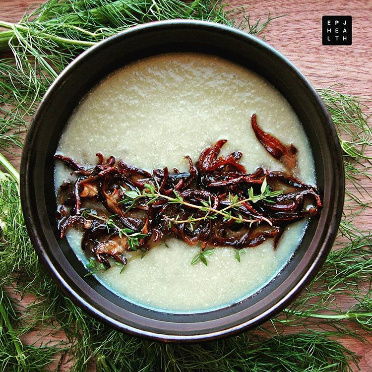 Try this delicious digestive Shiitake Mushroom Bean and Fennel Souphellip