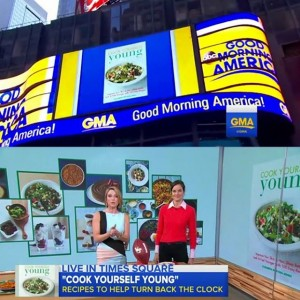 Thank you goodmorningamerica and Amy Robach ajrobach for a funhellip