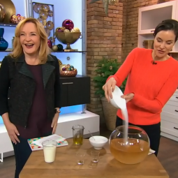 Elizabeth on the Marilyn Denis Show in the US