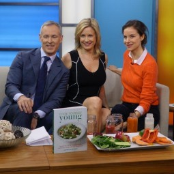 Time of Toronto TV. Elizabeth's Interview About Cook Yourself Young.