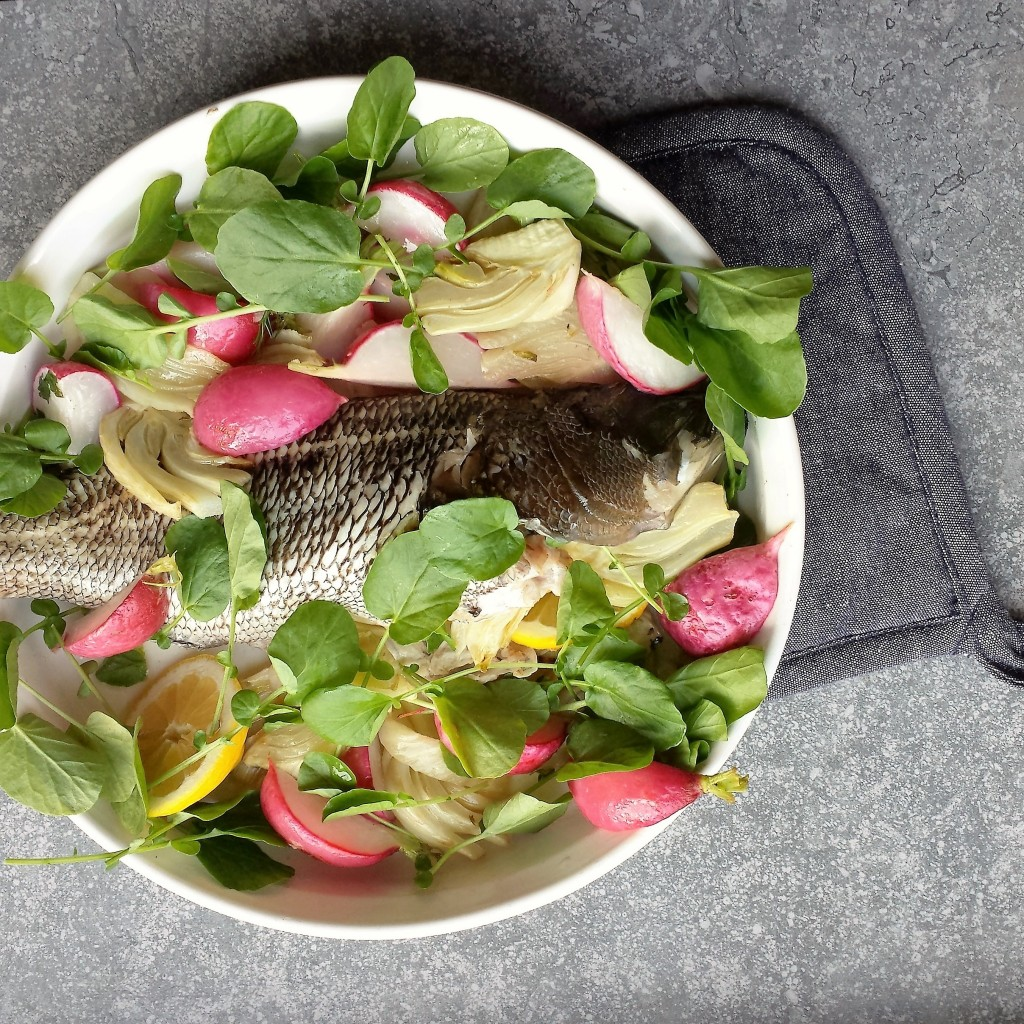 seabass-with-fennel-radish-watercress