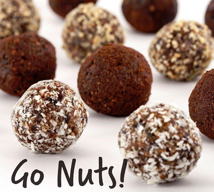 Brain Food  Our handrolled artisan GoNuts! snacks with ecofriendlyhellip
