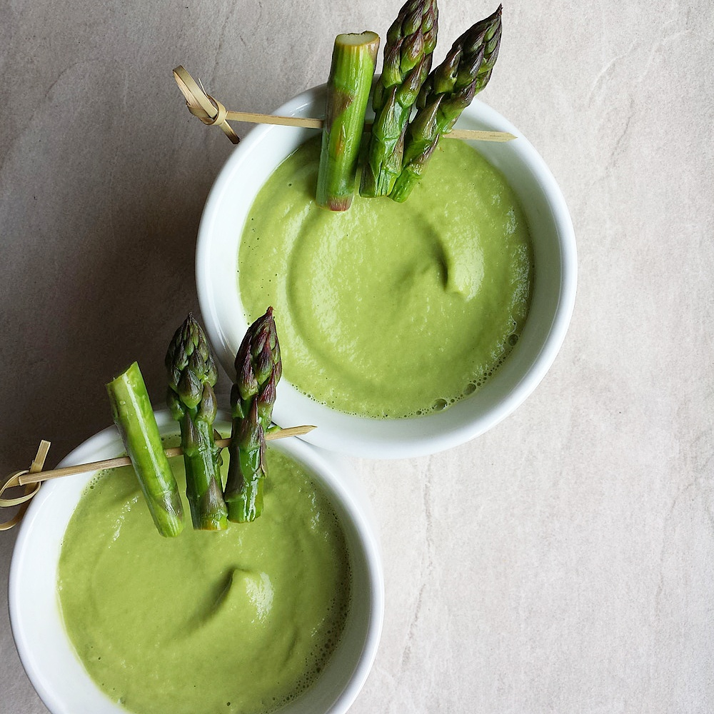 CHILLED ASPARAGUS SOUP | EPJHealth