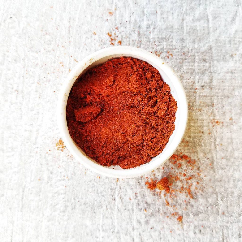Paprika is a spice which has been made from groundhellip